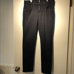Rag and Bone Black Skinny Jeans - VGUC